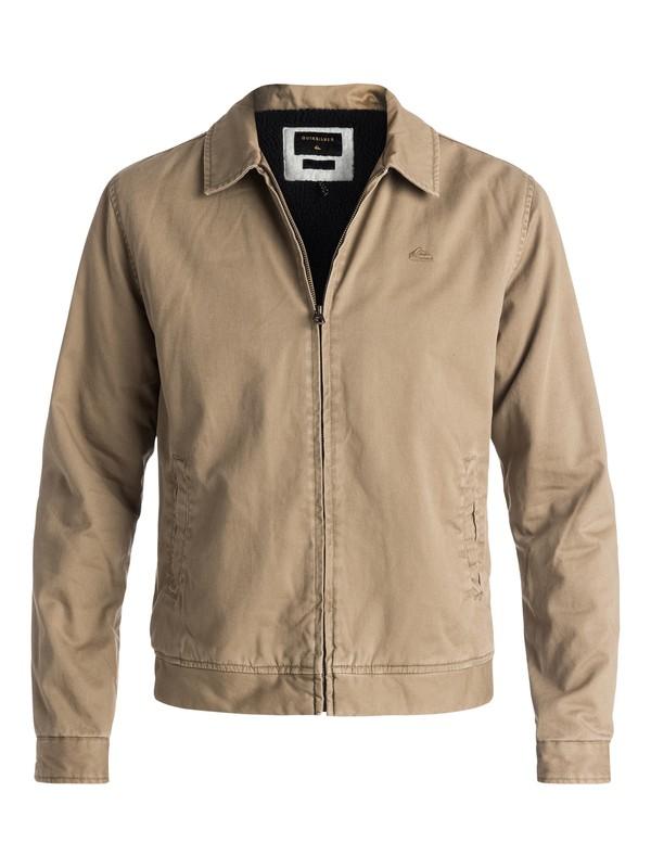 0 Everyday Billy Harrington Jacket Beige EQYJK03235 Quiksilver