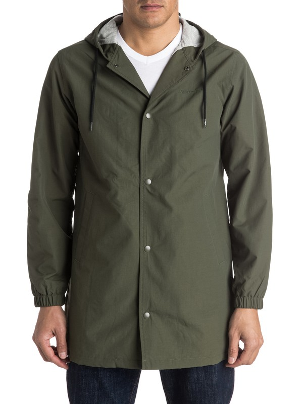 0 Tricky Nation - Coupe-Vent long  EQYJK03248 Quiksilver