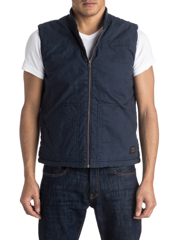 0 Stately Home Sleeveless Jacket  EQYJK03251 Quiksilver