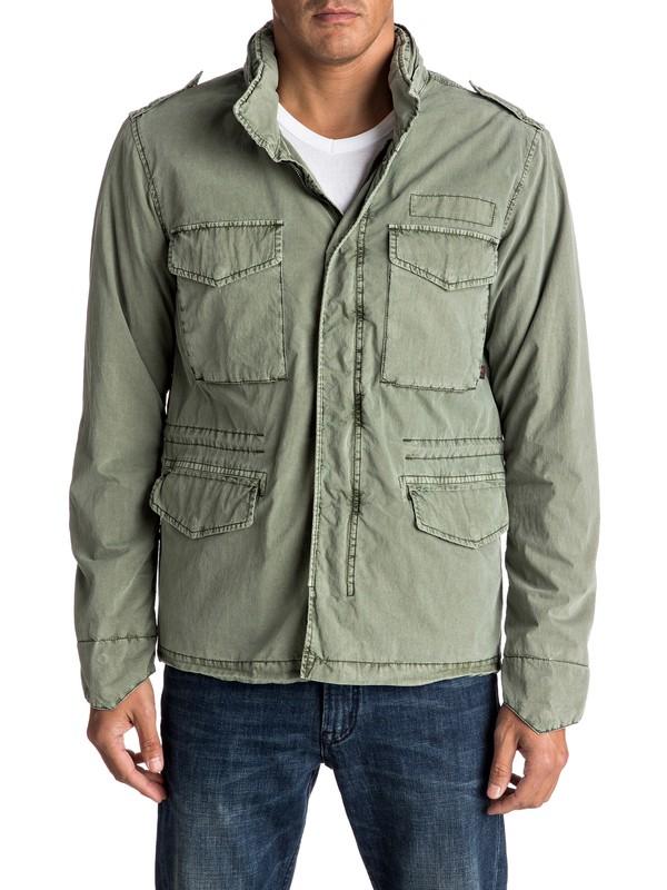 0 Frazer Hillz - Summer Field Jacket  EQYJK03286 Quiksilver