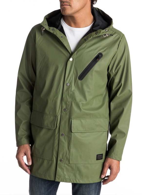 0 Travers Deep Long Rain Jacket  EQYJK03309 Quiksilver