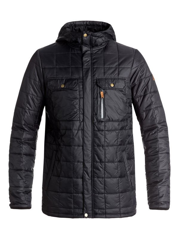 0 Cruiser - Insulator Jacket Black EQYJK03327 Quiksilver