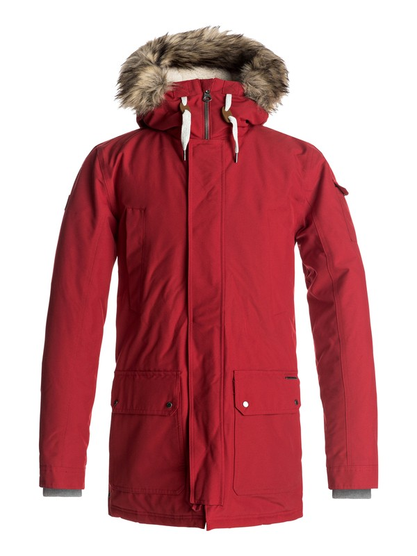0 Ferris - Waterproof Parka Jacket Red EQYJK03332 Quiksilver