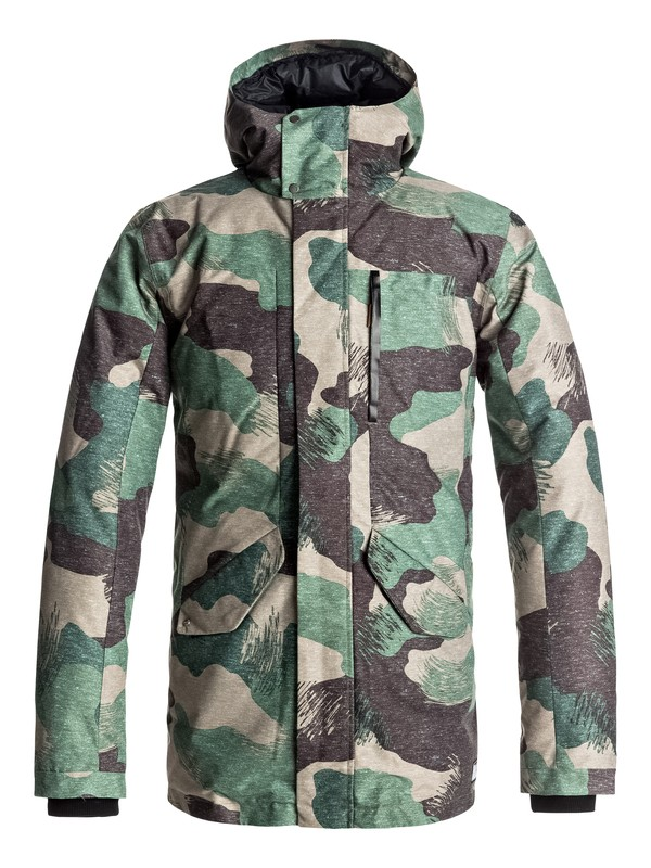 0 Ice Punch - Parka imperméable Marron EQYJK03336 Quiksilver