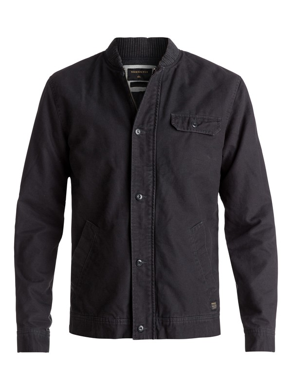 0 Lu Meah Workwear Jacket Black EQYJK03344 Quiksilver