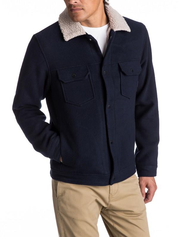 0 Hawea - Veste à col sherpa Bleu EQYJK03354 Quiksilver