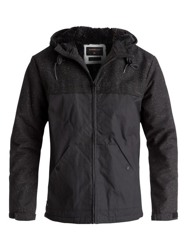 0 Wanna Water-Repellent Jacket Black EQYJK03361 Quiksilver