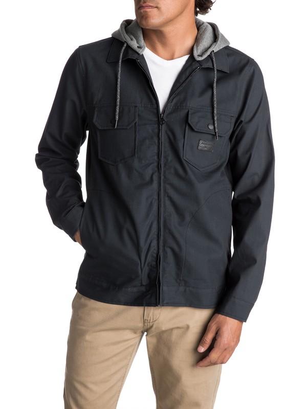 0 Men's Tionaga Water Repellent Jacket Black EQYJK03368 Quiksilver