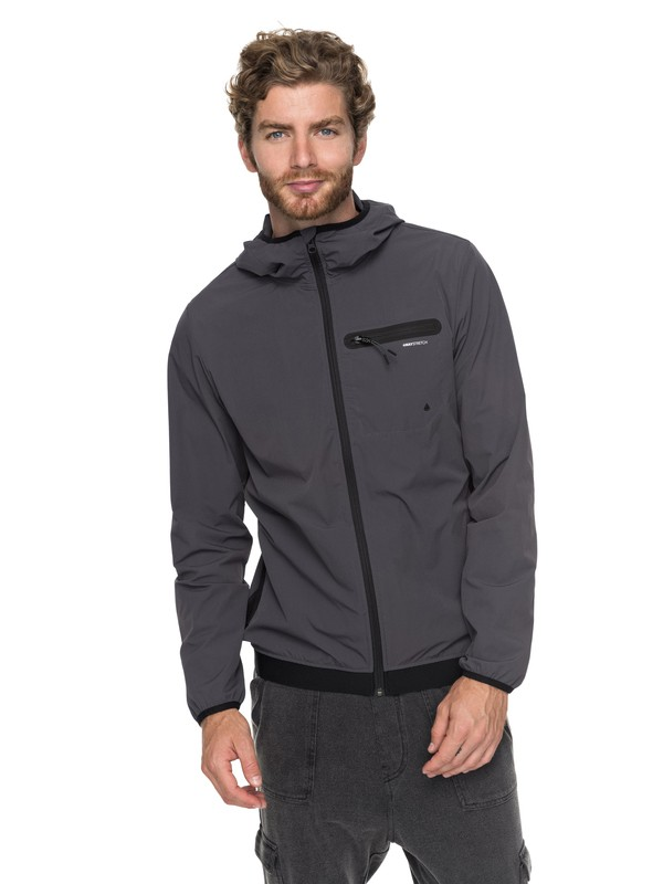 0 Moon Break - Veste de sport technique Noir EQYJK03387 Quiksilver