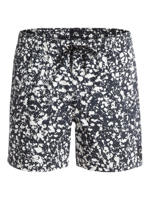 "0 Acid Dots 16"" Volley Boardshorts White EQYJV03048 Quiksilver"