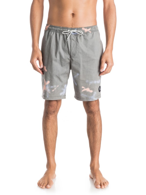 "0 Ghetto Mix 18"" Volley Boardshorts  EQYJV03081 Quiksilver"