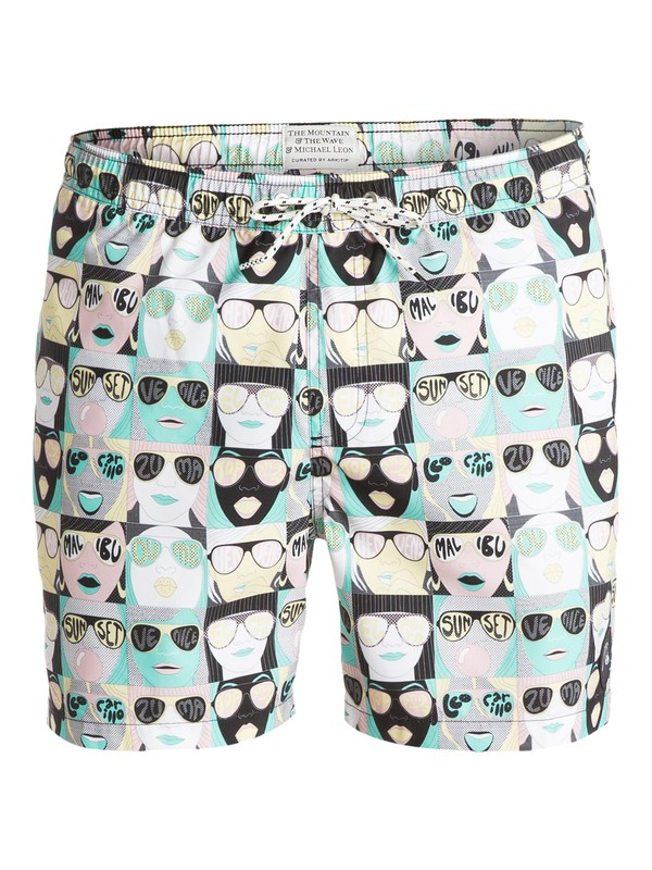"0 Spot Check Fruit Bat 16"" - Short de bain  EQYJV03101 Quiksilver"