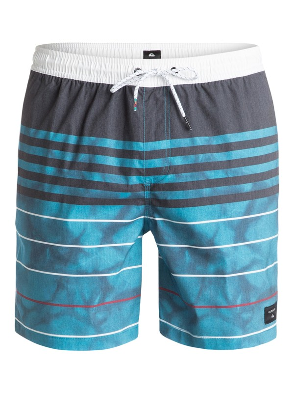 "0 Swell Vision 17"" Volley Boardshorts Blue EQYJV03154 Quiksilver"