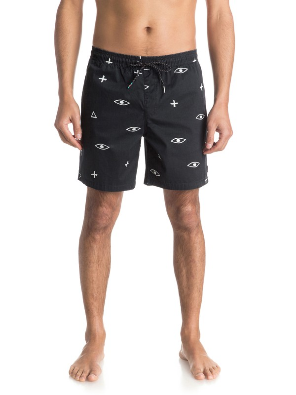 "0 Ghetto Mix 17"" Volley Boardshorts  EQYJV03157 Quiksilver"