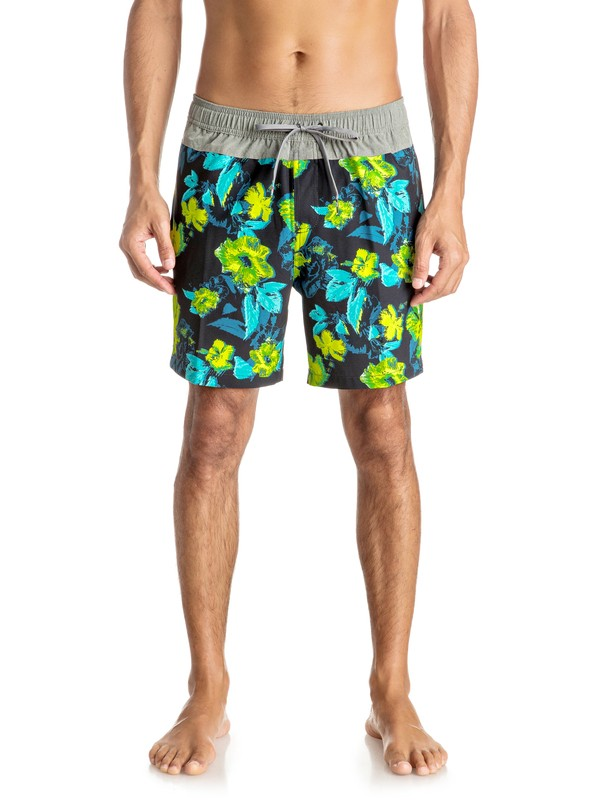 "0 Jungle Fever 17"" - Short de bain Jaune EQYJV03199 Quiksilver"