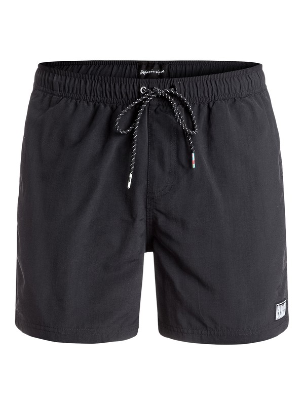 "0 Mellow Out 16"" - Short de bain Noir EQYJV03219 Quiksilver"