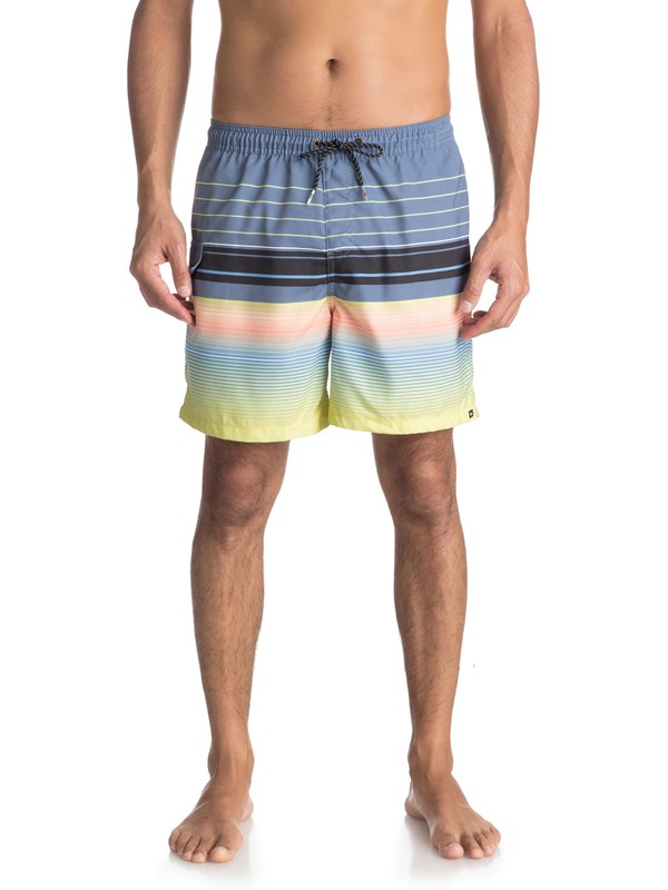 "0 Swell Vision 17"" Volley Boardshorts Blue EQYJV03305 Quiksilver"