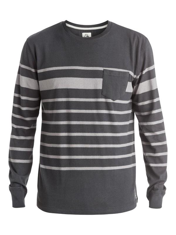 0 Snit Crew Stripe - Sweatshirt  EQYKT03187 Quiksilver