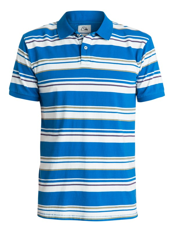 0 Decay Stripe Polo Shirt  EQYKT03196 Quiksilver