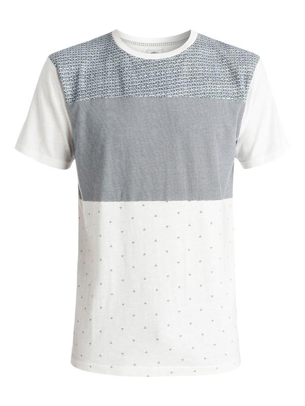 0 Astle - T-shirt Blanc EQYKT03273 Quiksilver