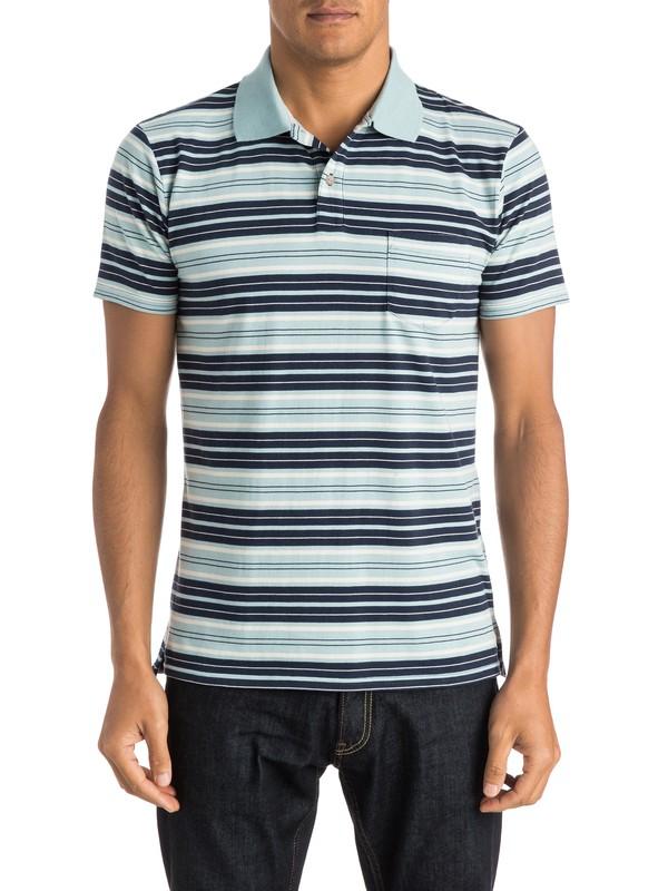 0 Dry Ice Polo Polo Shirt  EQYKT03301 Quiksilver