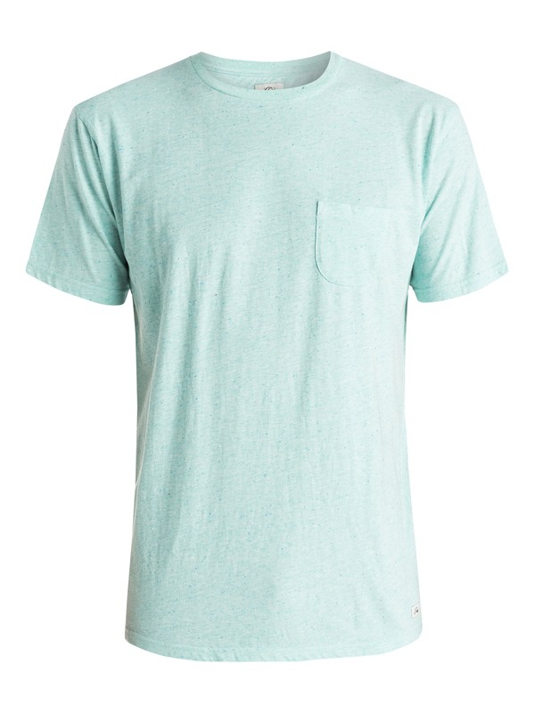 0 Tropical Haven - T-shirt Bleu EQYKT03316 Quiksilver