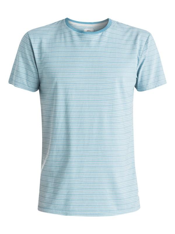 0 Stripey Type - T-shirt Bleu EQYKT03328 Quiksilver