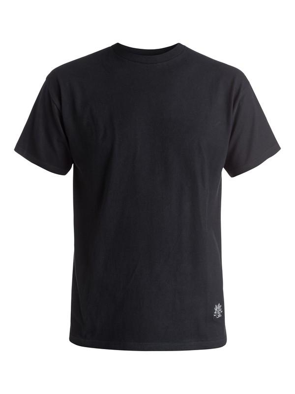 0 Julien David X Quiksilver Logo - T-shirt  EQYKT03340 Quiksilver
