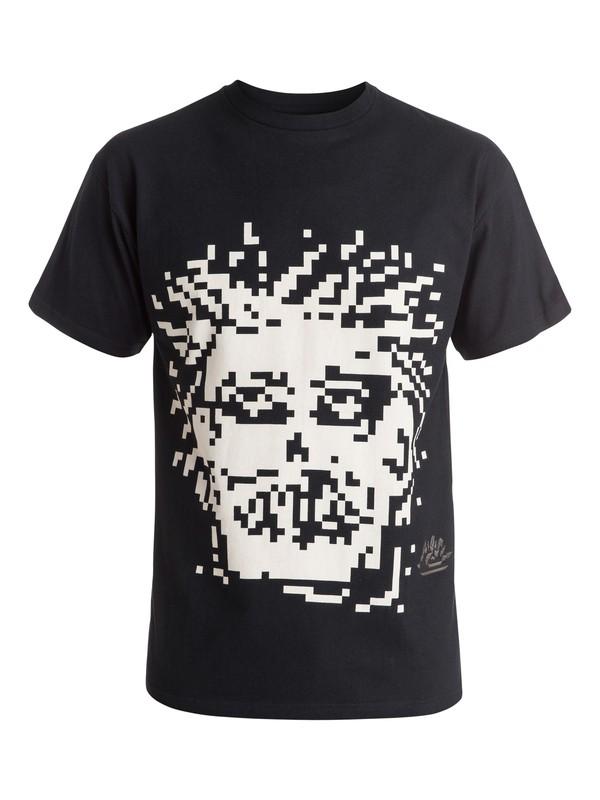 0 Julien David X Quiksilver Wild Head - T-shirt Noir EQYKT03341 Quiksilver