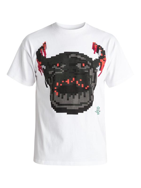 0 Julien David X Quiksilver Viking - T-shirt Blanc EQYKT03342 Quiksilver