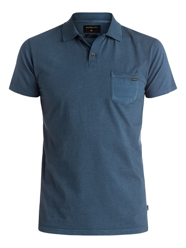 0 Hidden City - Polo Bleu EQYKT03399 Quiksilver