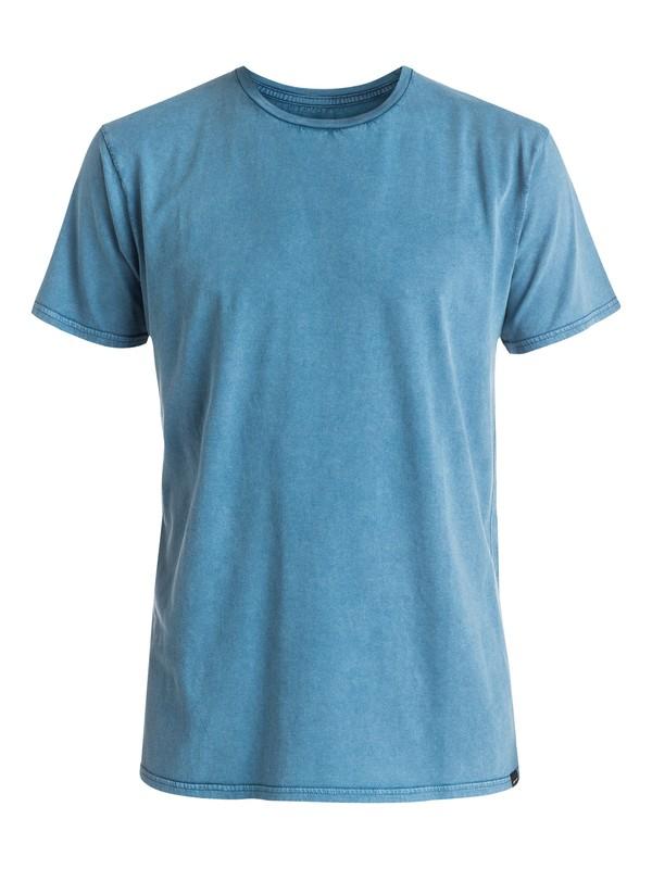 0 Solar Acid - Tee-Shirt Bleu EQYKT03403 Quiksilver