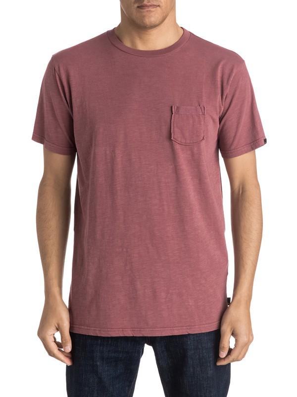 0 Slubstitution - Tee-Shirt à poche  EQYKT03414 Quiksilver