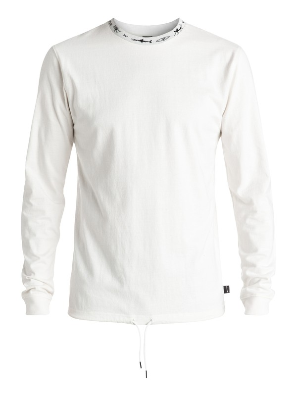 0 Necked - Tee-Shirt à manches longues Blanc EQYKT03419 Quiksilver