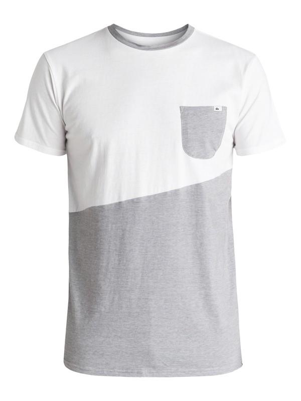 0 Kapital Ride - Tee-Shirt à poche Blanc EQYKT03431 Quiksilver