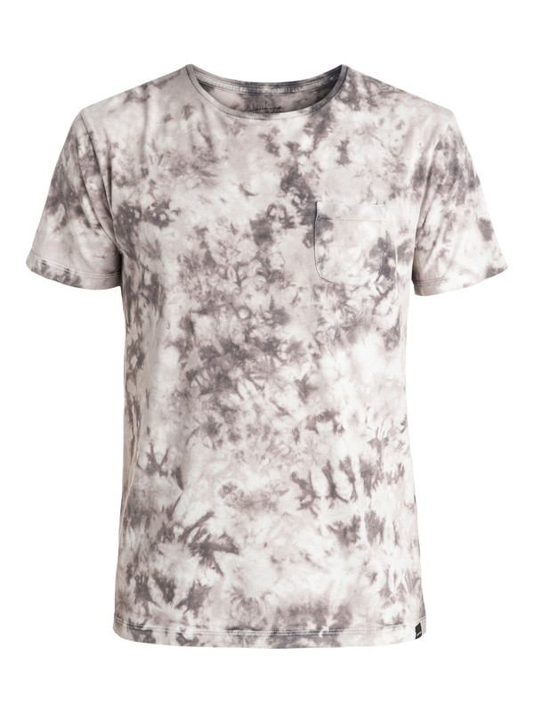 0 Washed Up - Tee-Shirt Noir EQYKT03436 Quiksilver