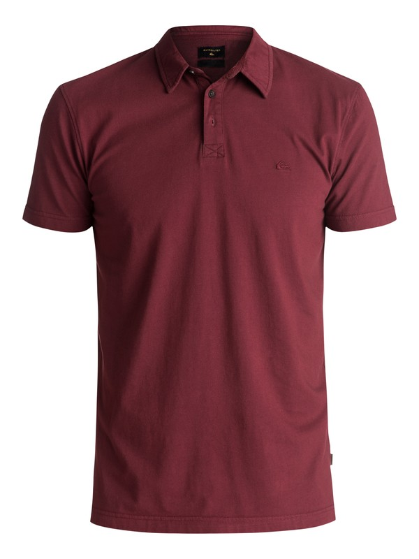 0 Everyday Sun Cruise Polo Shirt Red EQYKT03446 Quiksilver