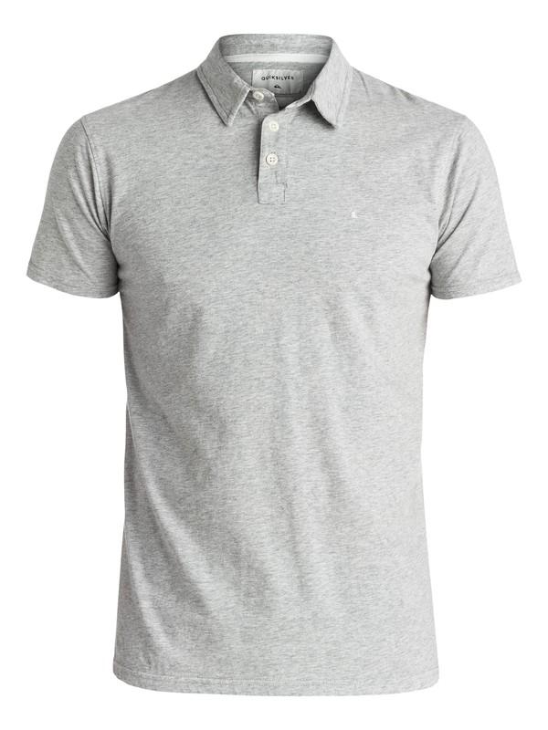0 Everyday Sun Cruise Polo Shirt Grey EQYKT03446 Quiksilver
