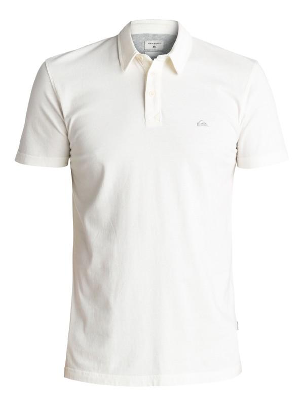 0 Everyday Sun Cruise Polo Shirt White EQYKT03446 Quiksilver
