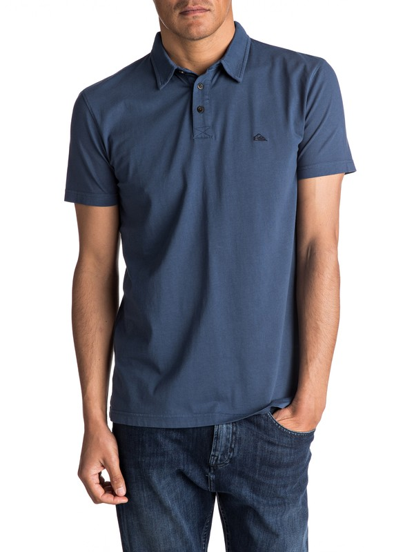0 Everyday Sun Cruise Polo Shirt Blue EQYKT03446 Quiksilver