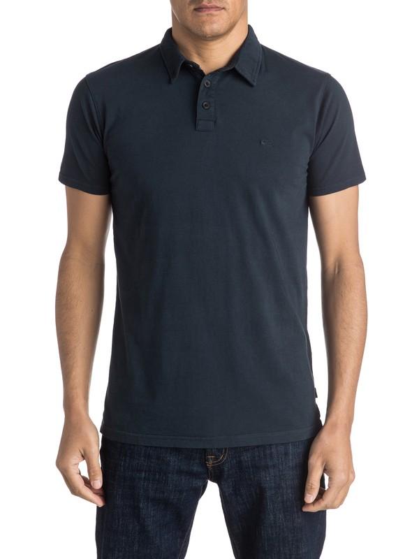0 Everyday Sun Cruise Polo Shirt Black EQYKT03446 Quiksilver