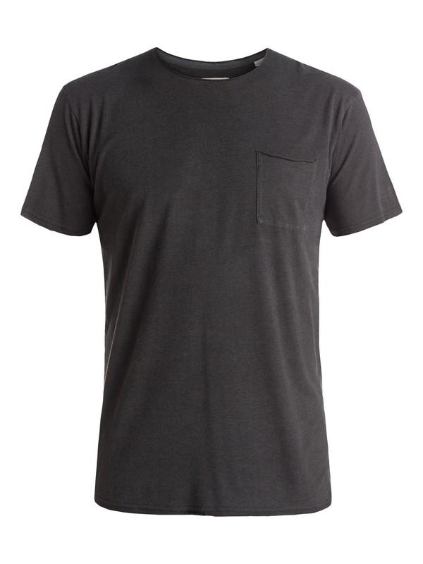 0 The Organic - Tee-Shirt à poche Noir EQYKT03448 Quiksilver