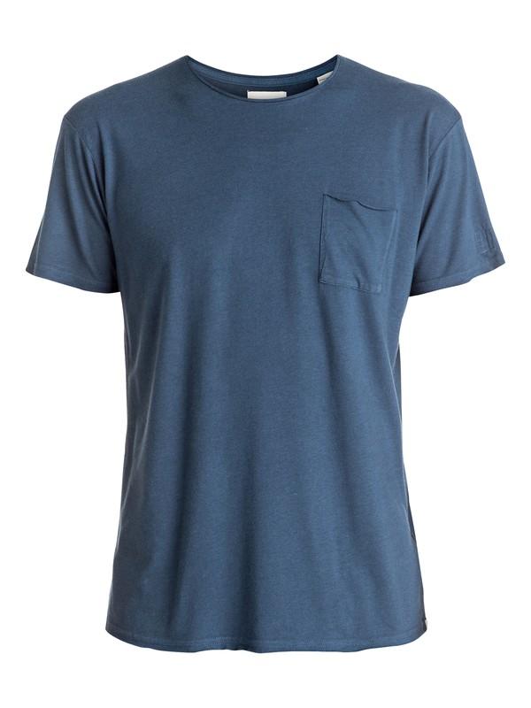 0 The Organic - Tee-Shirt à poche Bleu EQYKT03448 Quiksilver