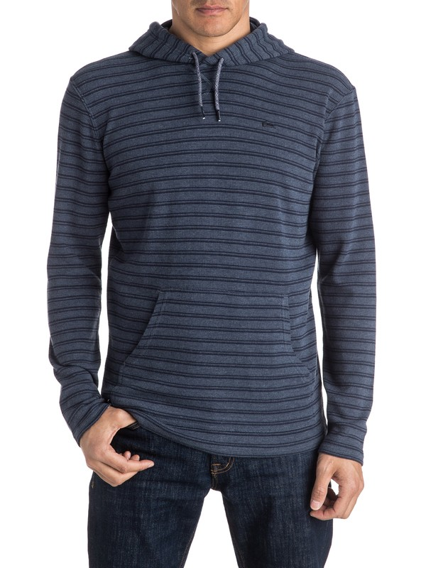 0 Ocean Surface Long Sleeve Hooded Tee  EQYKT03462 Quiksilver