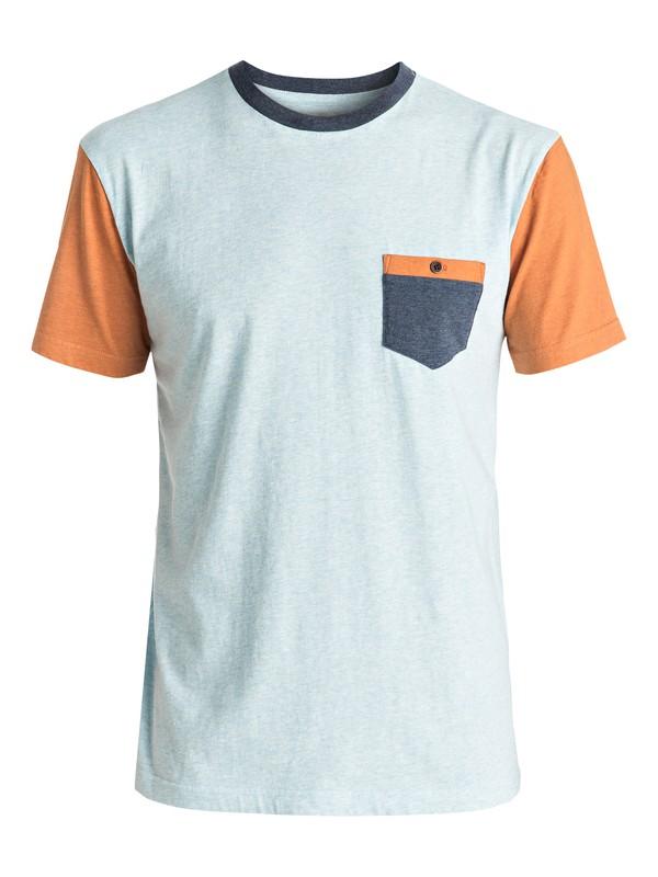 0 Baysic - Tee-Shirt à poche Bleu EQYKT03501 Quiksilver