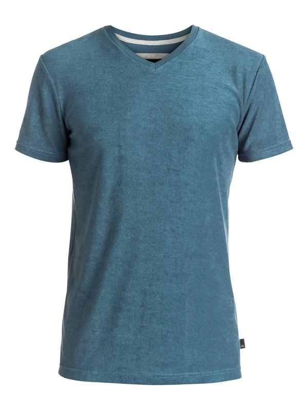 0 Ar Kiely V - Tee-Shirt Bleu EQYKT03502 Quiksilver