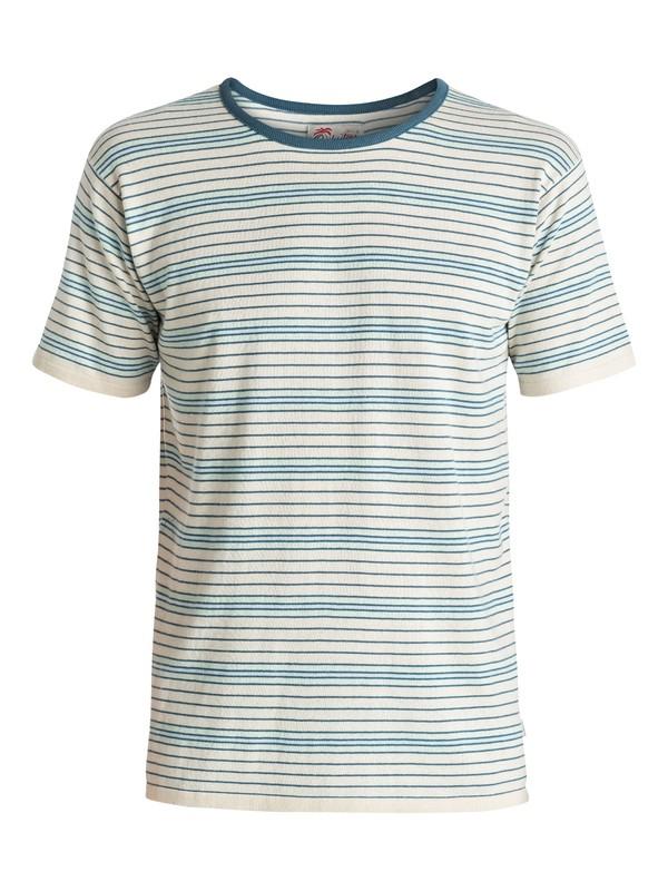 0 Cheer Mate - Tee-Shirt Bleu EQYKT03503 Quiksilver