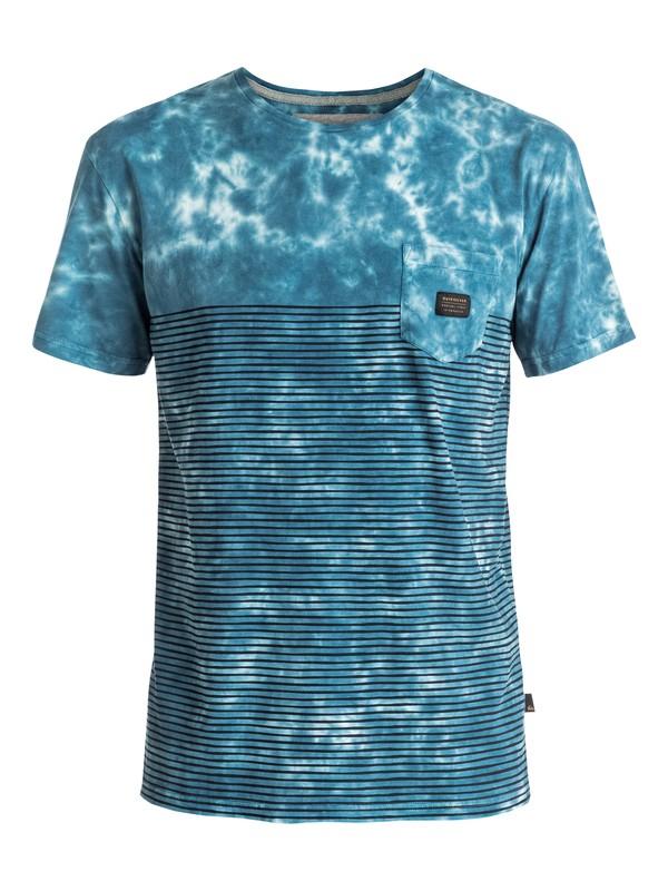 0 X Bloob - Tee-Shirt à poche Bleu EQYKT03505 Quiksilver