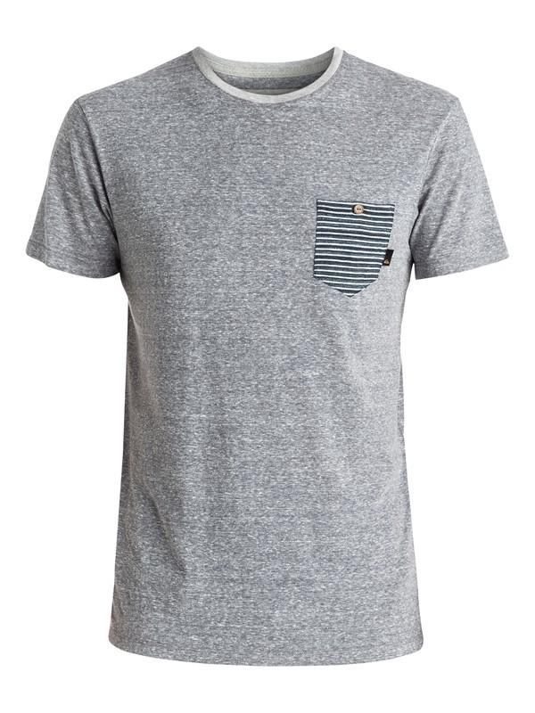 0 Hombre Jackson - Tee-Shirt à poche Noir EQYKT03506 Quiksilver