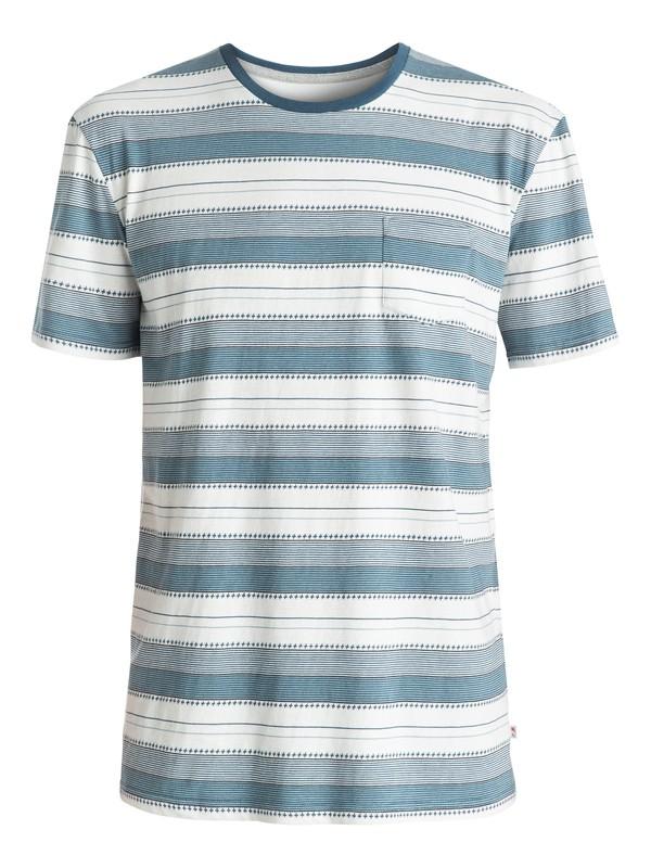 0 Pedry Dano - Tee-Shirt à poche Bleu EQYKT03508 Quiksilver
